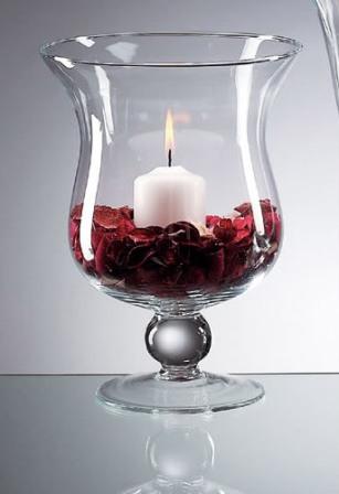 hurricane vase centerpieces. Black Bedroom Furniture Sets. Home Design Ideas