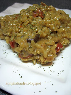porcini-and-chorizo-risotto