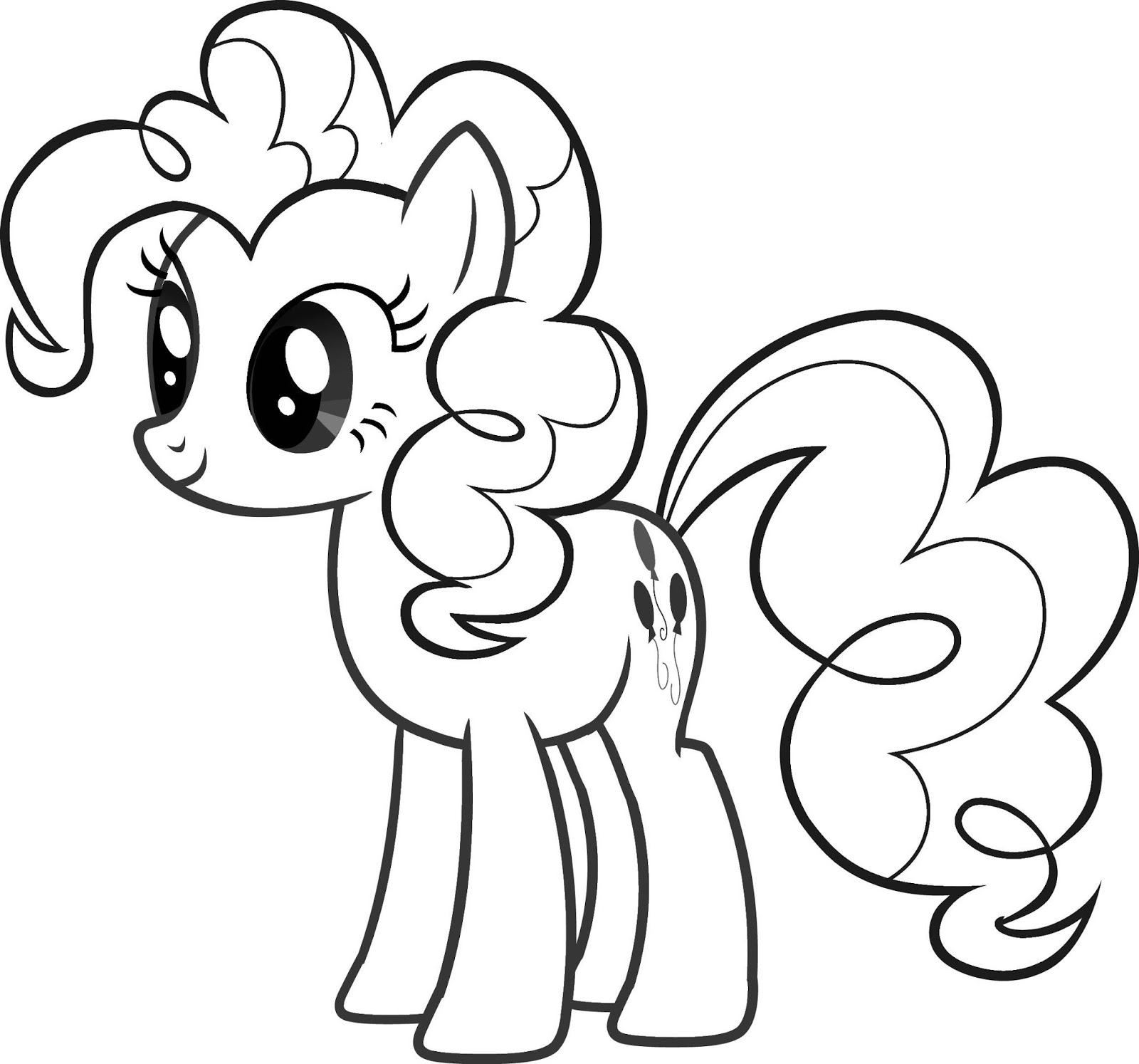 Fun learn free worksheets for kid my little pony for Pony coloring pages online