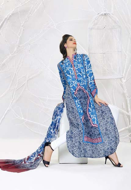 Khaadi lawn Spring Turkish collection 2013 for Ladies and Women