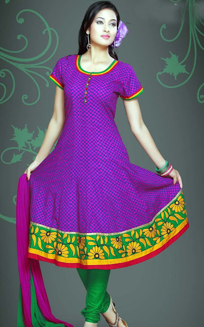 Churidar-Party-Wear-Frock