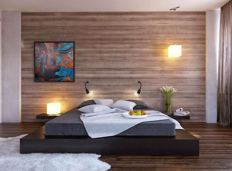 Warna cat tembok kamar tidur romantis