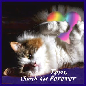 REST IN PEACE CHURCH CAT TOM