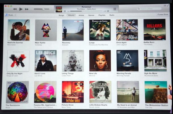 iTunes11, Apple