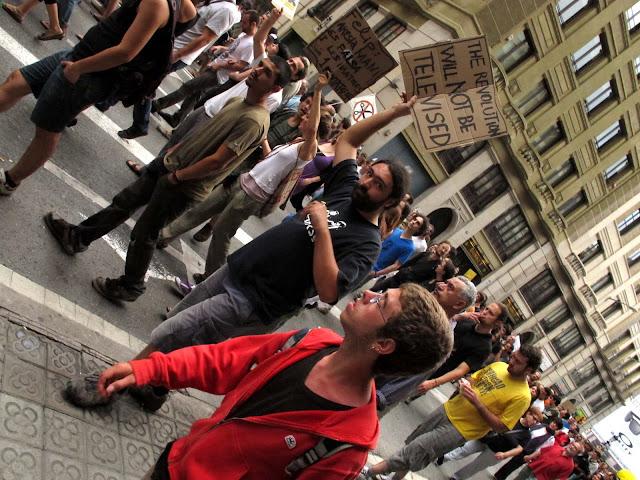 Manifestación del 15M el 19 de julio de 2011