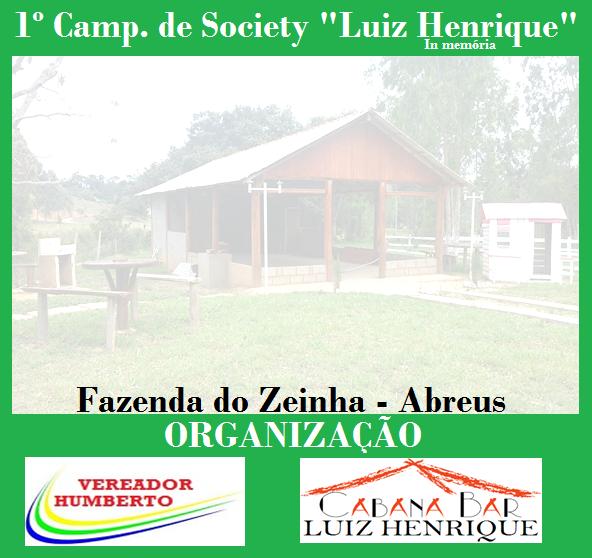 """1º CAMPEONATO """"LUIZ HENRIQUE"""""""