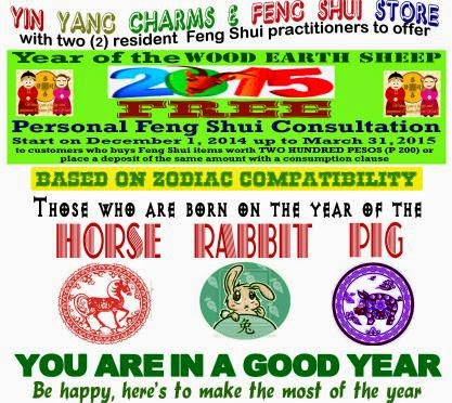 Feng Shui Chinese New Year 2015