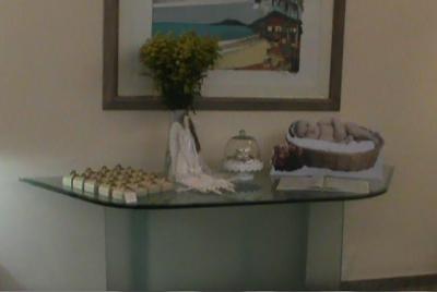 decoração de batizado - anjos e Tilda