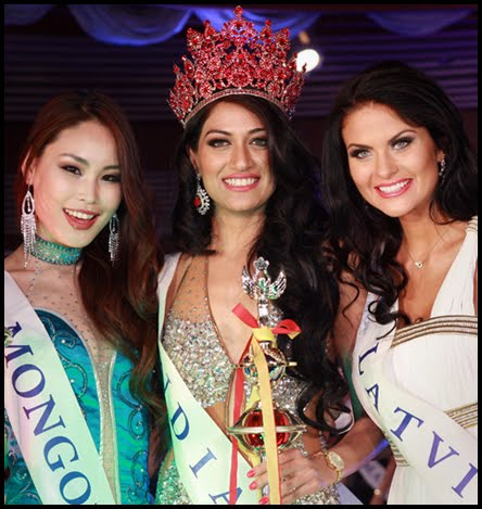 Miss Asia Pacific World 2012 India winner Himangini Singh Yadu