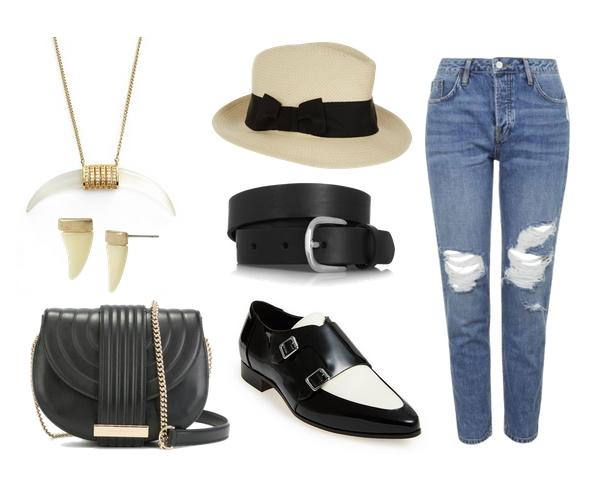 boyfriend jeans set