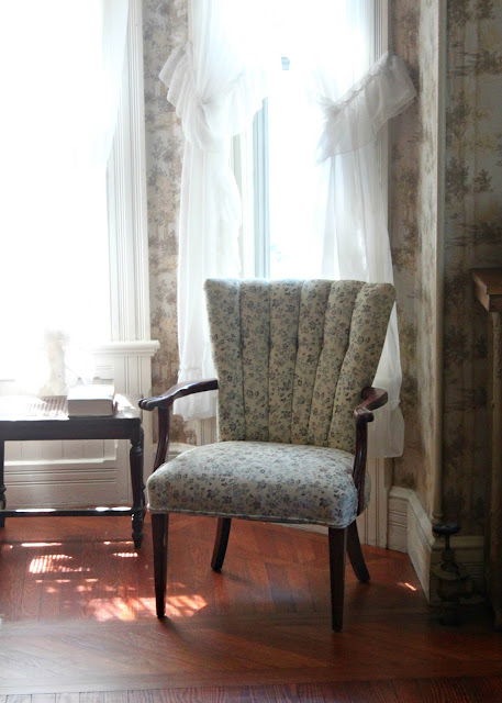 Papered House_Channel Back Arm Chair