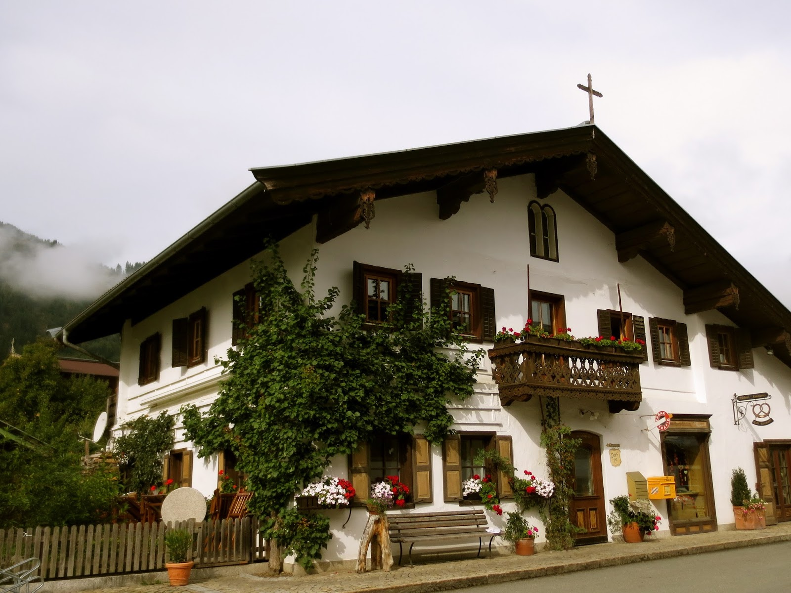 A Different Traditional Aspect Im Totally Obsessed With However Is The Style Of Austrian Houses