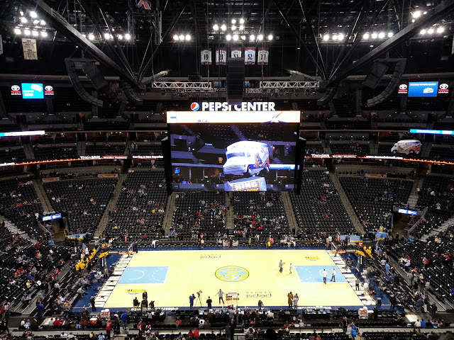 bienvenue en lys  chicago bulls versus denver nuggets