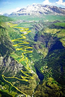 L'Alpe D' Huez, France, cycling