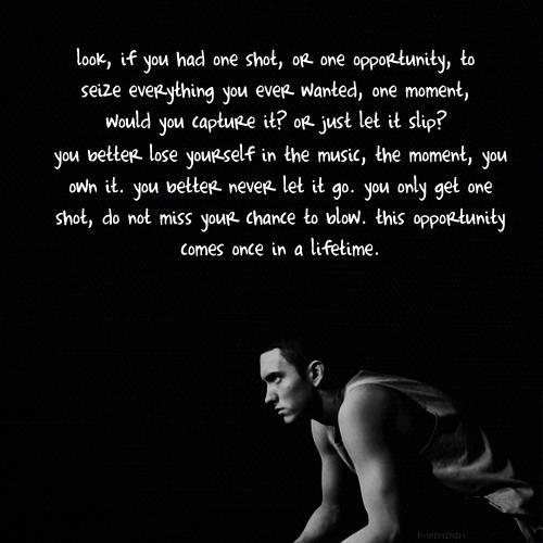 famous quotes from eminem quotesgram
