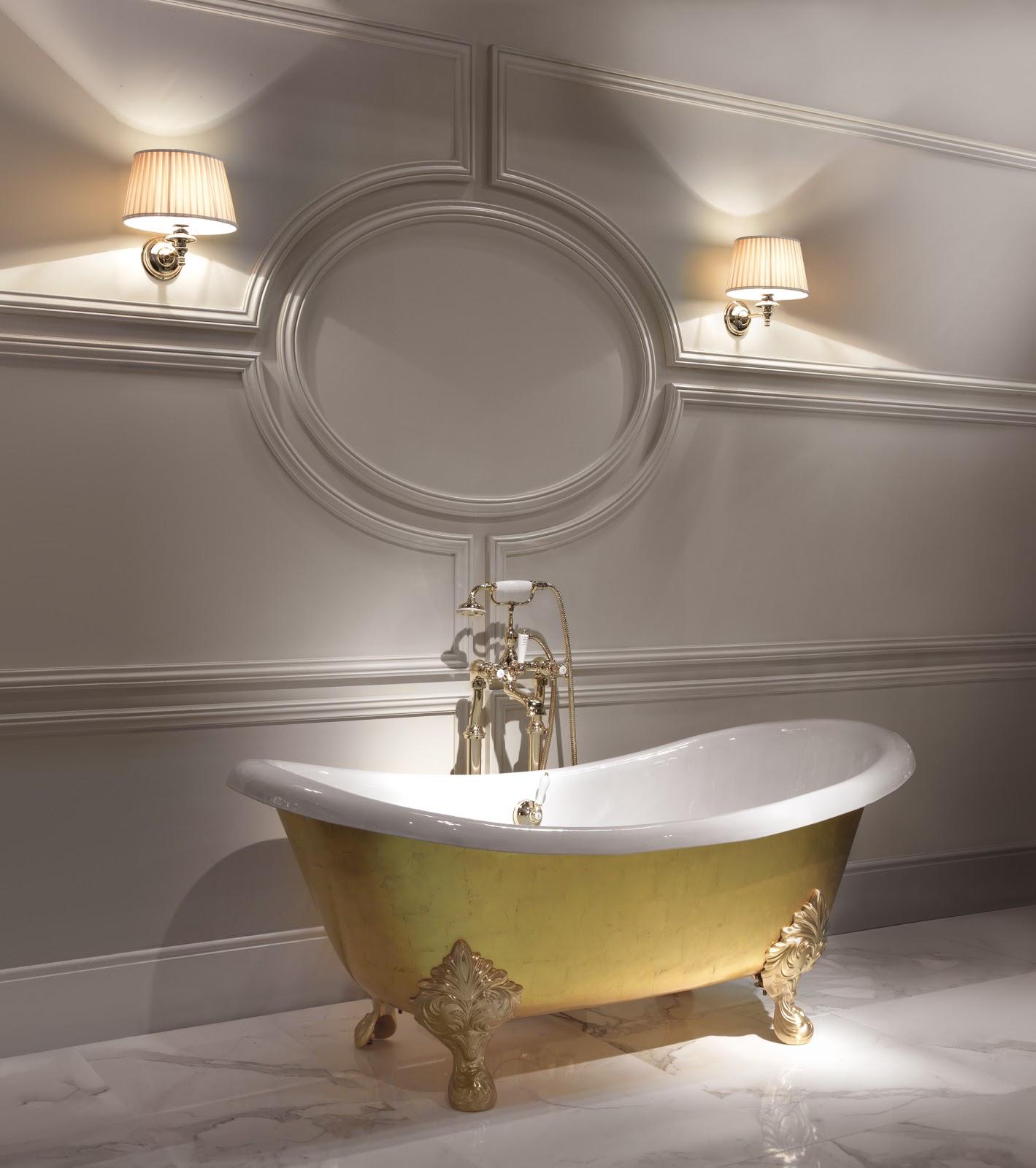 Chartwell magazine 24 kt gold bath - Bagno devon e devon ...