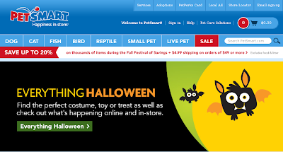 PetSmart Halloween Sales