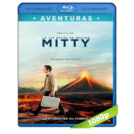 La Increible Vida de Walter Mitty (2013) Full HD BRRip 1080p Audio Dual Latino/Ingles 5.1