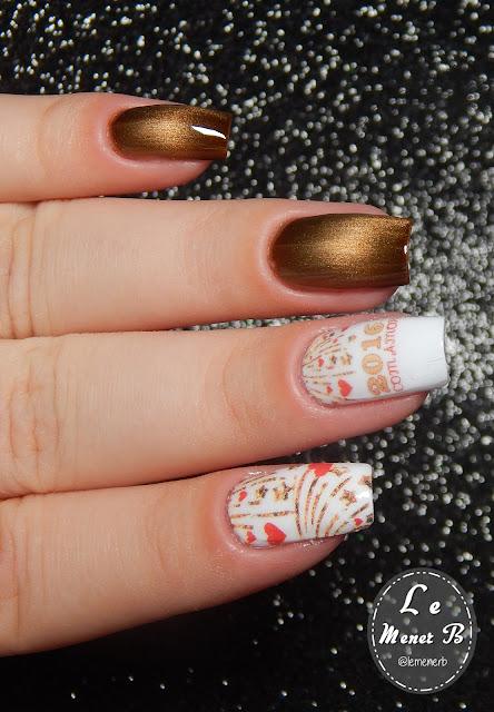 reveillon nail art