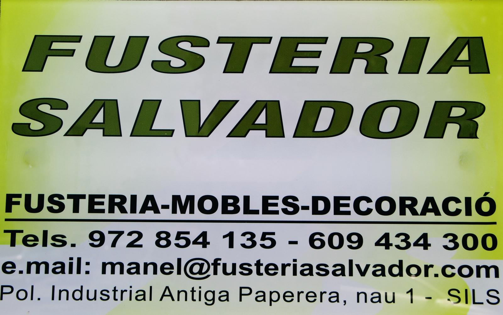 Fusteria Salvador