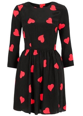 Topshop heart print dress 40 50 modelos populares de vestido das mulheres, criação de vestido das senhoras em 2015, senhoras vestidos de noite vestido de noite de moda 2015