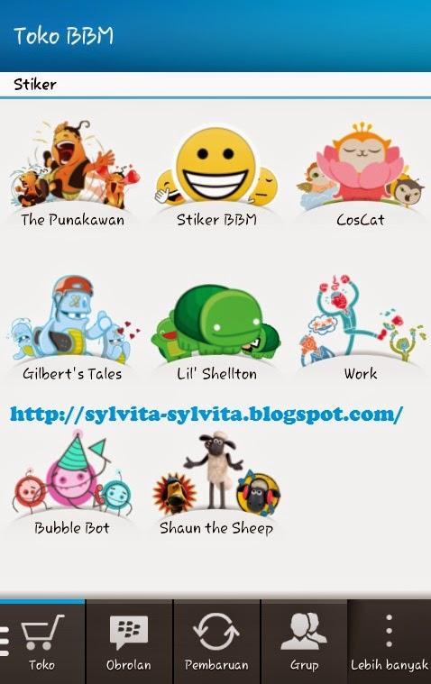 Dapatkan Stiker Lucu Untuk Penguna BBM Android