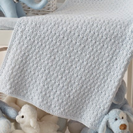 Textured Crochet Blanket - Free Pattern