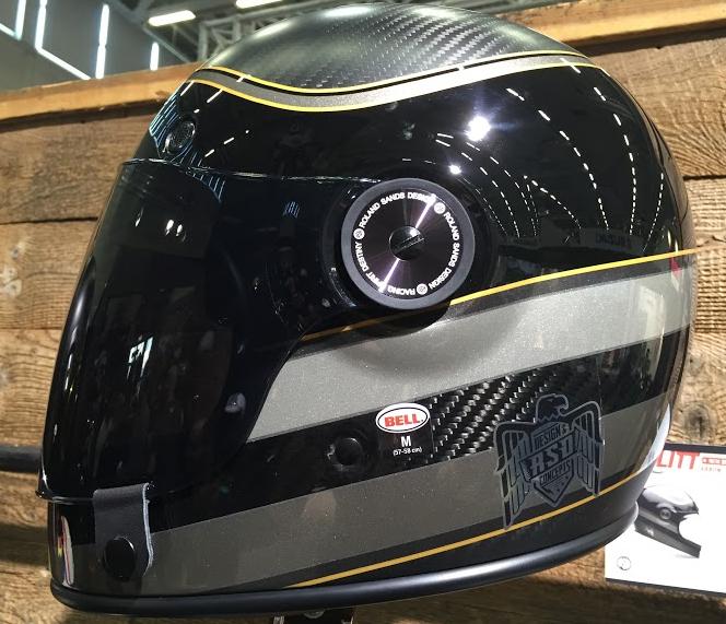 Bell Bullitt Carbon RSD Bagger Motorcycle Helmet
