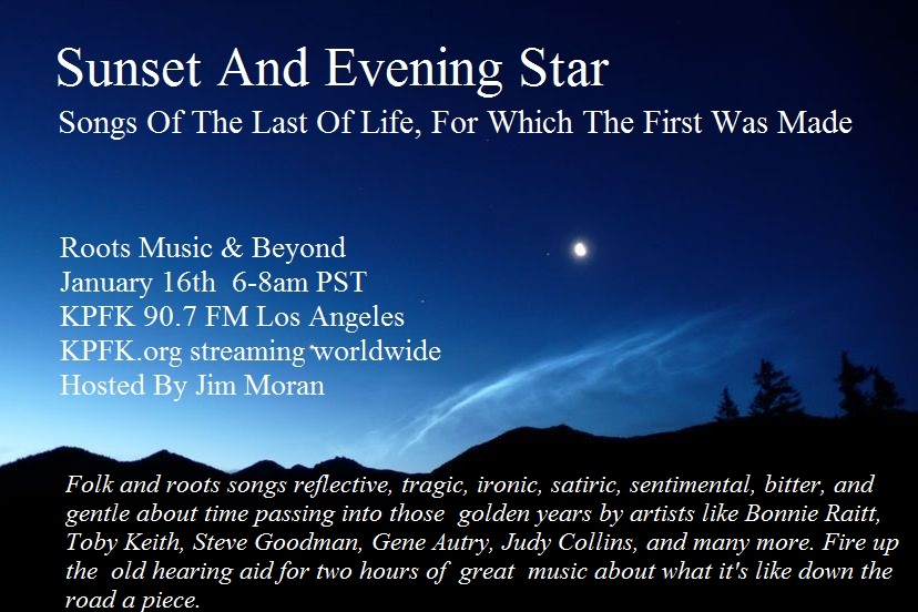 sunset and evening star poem