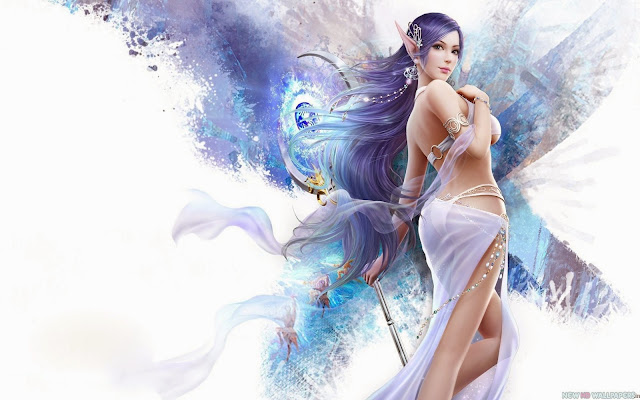 2136-Lovely Fantasy Girl HD Wallpaperz