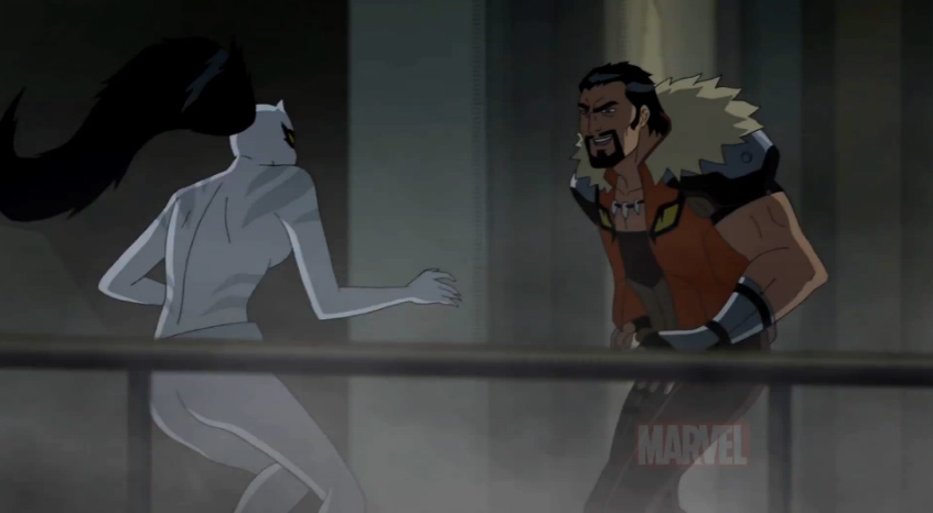 Ultimate spiderman white tiger dark side - photo#6