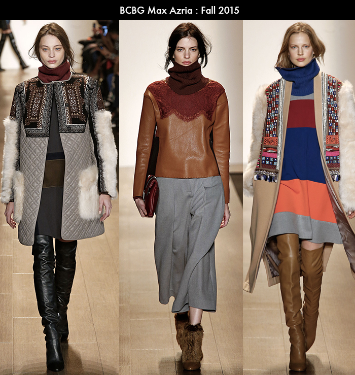 NYFW, bcbg max azria, style blogger, fall 2015 trends