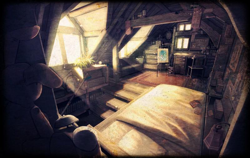 Уютный чердак