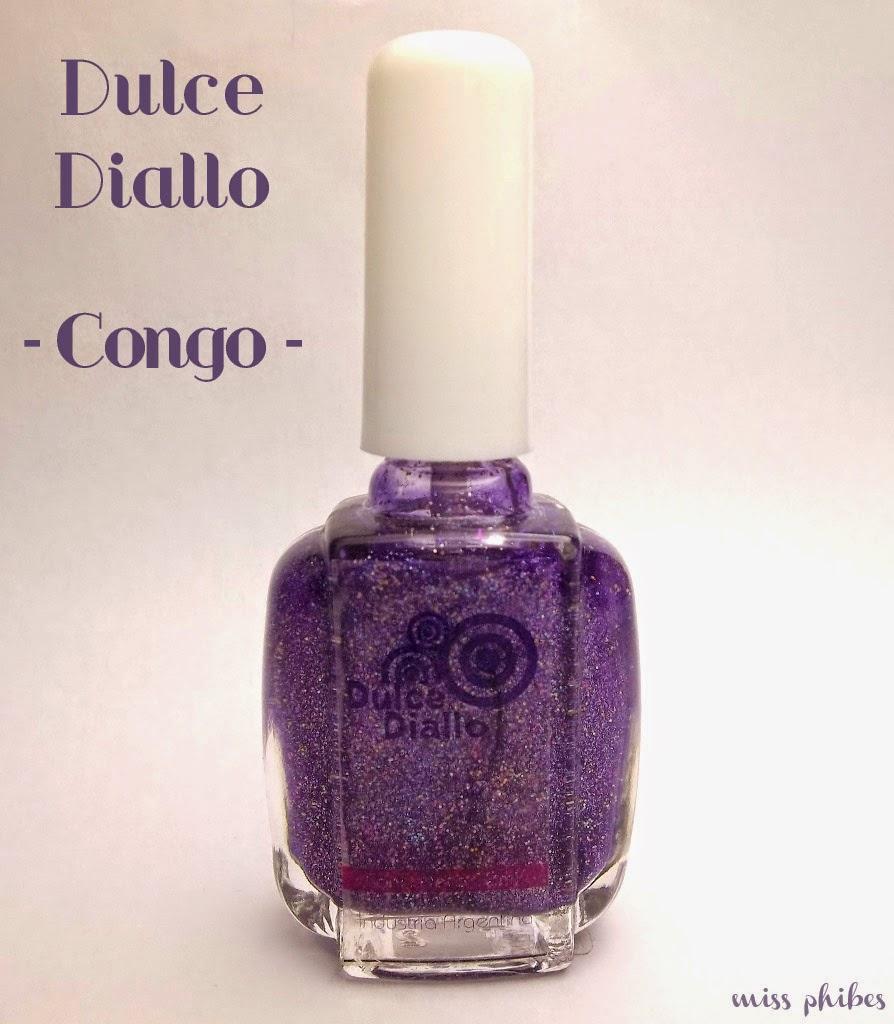 Esmalte Dulce Diallo Congo