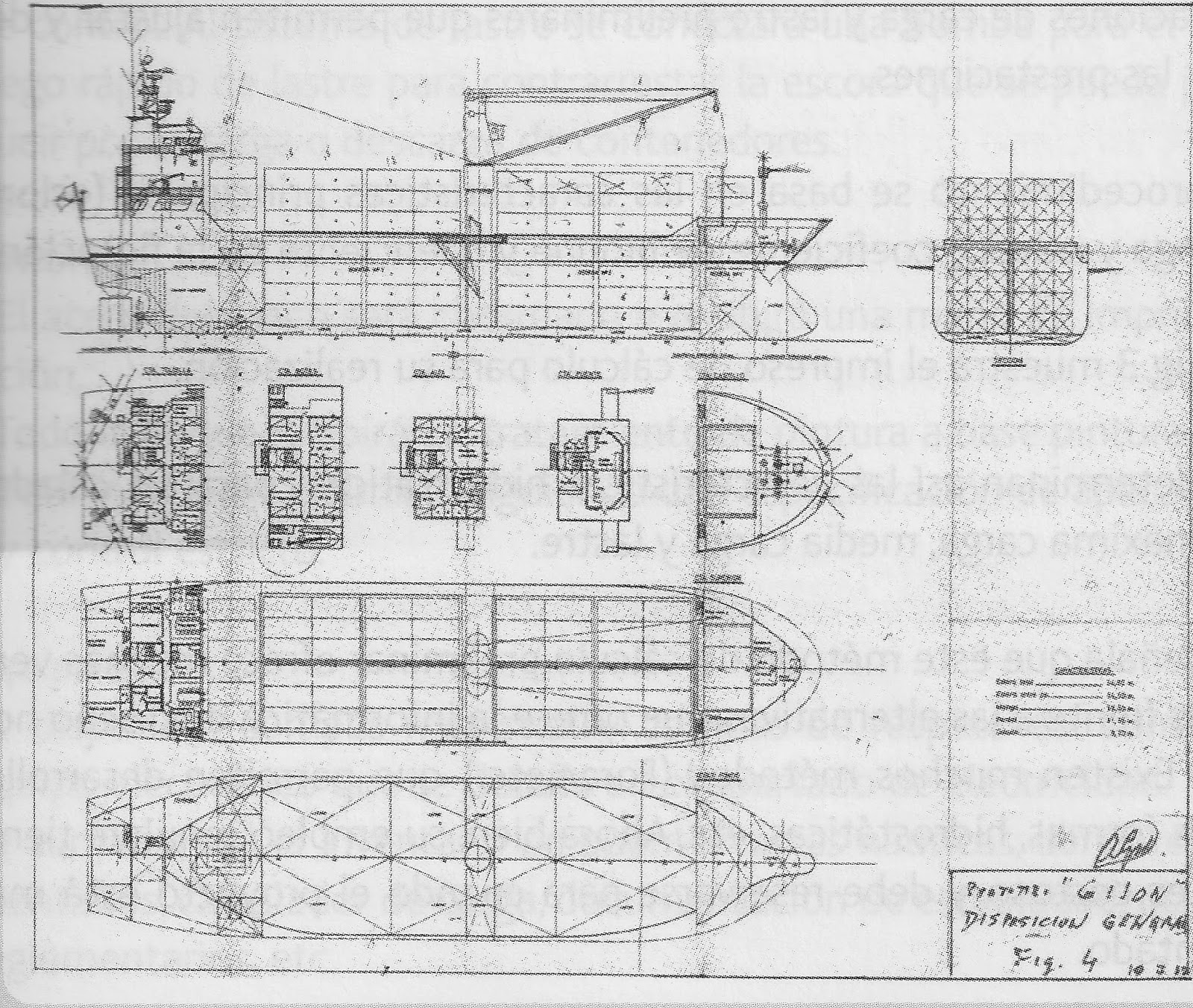 Lines Drawing Naval Architecture : Getxo ship