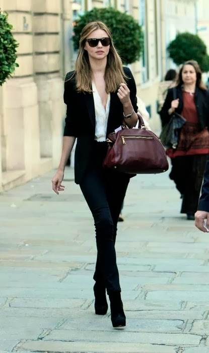 Street Style Inspiration Fashion Trends Casual Chic In Black Skinny Pants Cool Chic Style