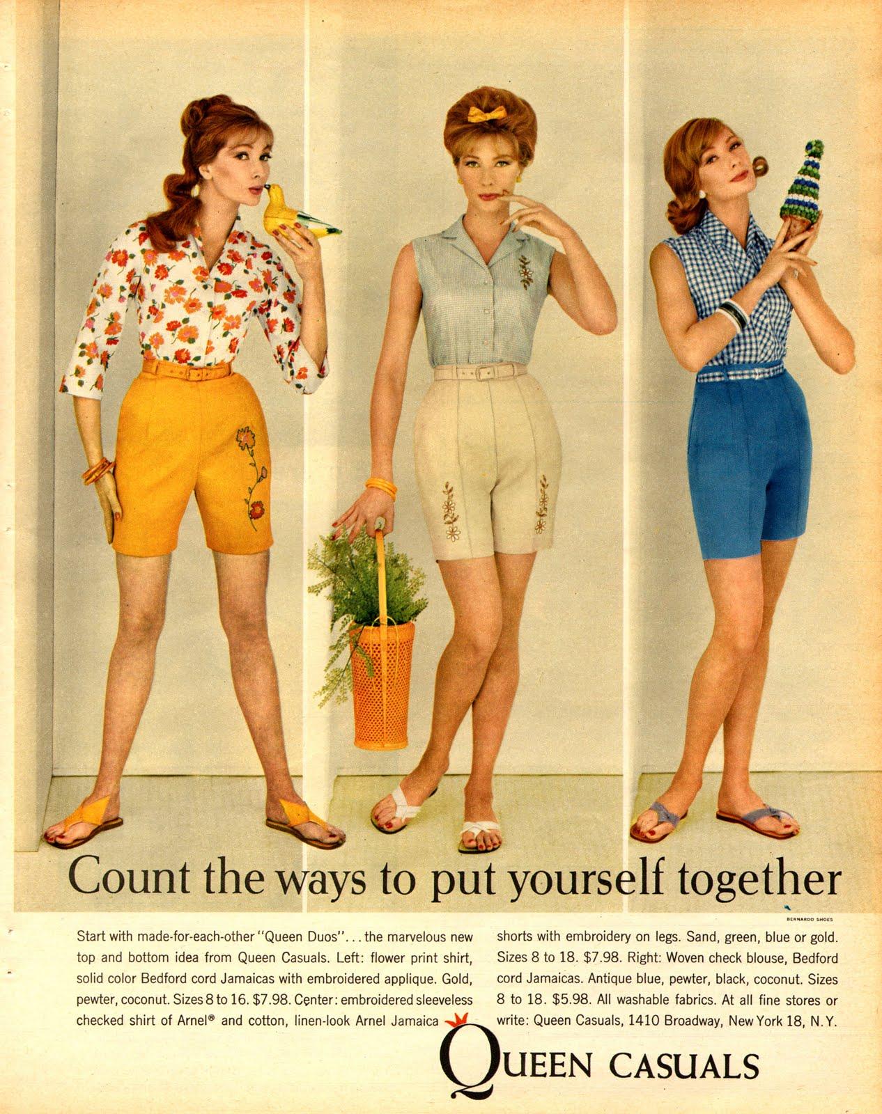 Neat stuff blog fashion advertisements 1960