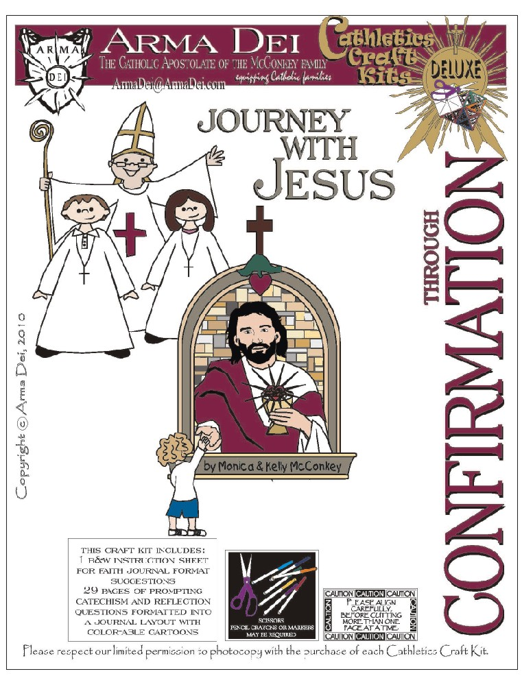 Catholic Confirmation Clip Art Jesus through confirmation