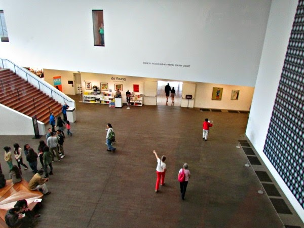 de Young Museum // Visitors' Area