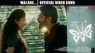 Premam Malare 2015 Malayalam 1080p HD Official Full Movie Video Song Youtube Watch Online Free Download