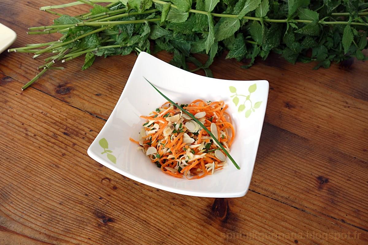 Салат из кабачков и морковки