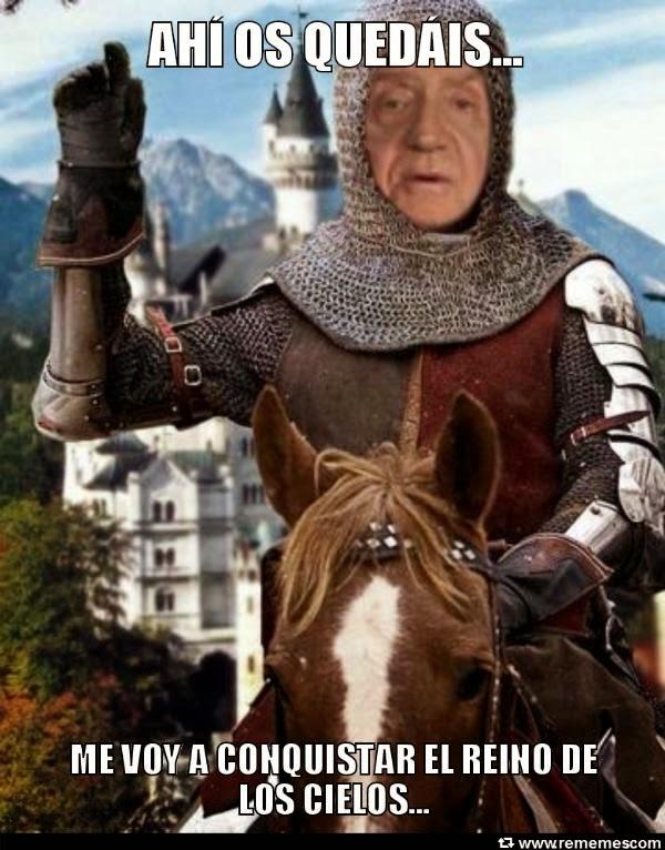 El rey abdica: Juan Carlos y Felipe. El príncipe y el Borbón. Humor, cachondeo, bromas, chorradas, whatsapp, chistes, guasa y memes.  España y la monarquía.