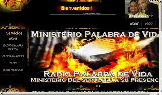 Ministerio Palabra de Vida & Ministerio Del sepulcro a su presencia & Radio Palabra de Vida