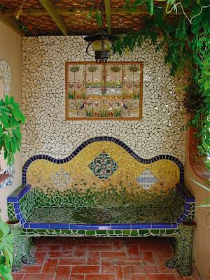 Joan seriny exteriores en trencadis - Azulejos de terraza ...