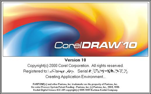 CorelDraw 10.0