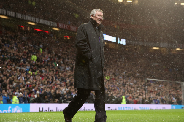 Fergie was never the most popular man at Anfield (Picture: Getty Images)