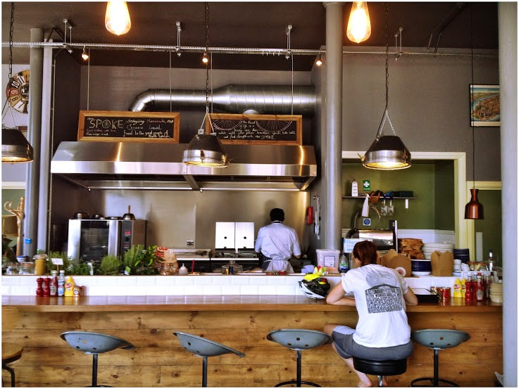 Open Kitchen at The Spoke Cafe