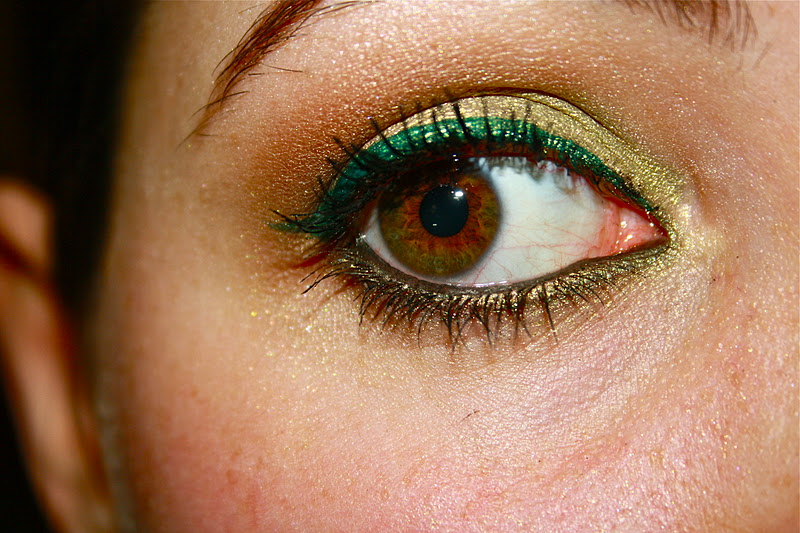 Olive Green Eye Look Photos And Tutorial Allure92