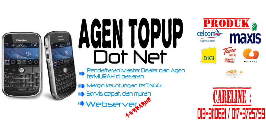 AGEN TOPUP dot net