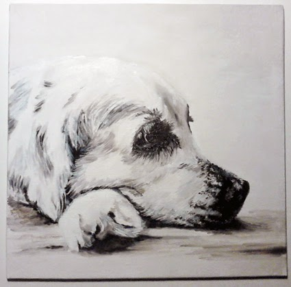 Olieverfschilderij Labrador